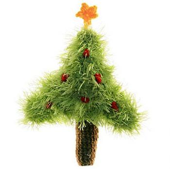 Christmas Tree Plush Dog Toy