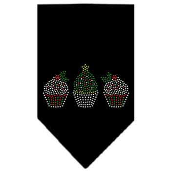 Christmas Holiday Dog Bandana - Christmas Cupcakes