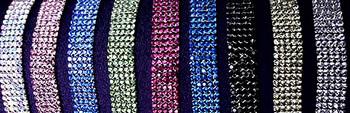 5-Row Swarovski Crystal Dog Necklace - 6 inch