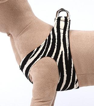 Zebra Step in Dog Harness by Susan Lanci