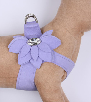 French Lavender Water Lily Step in Dog Harness