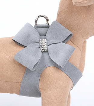 Platinum Nouveau Bow Step in Dog Harness