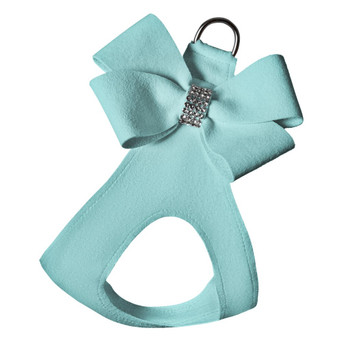 Tiffi Blue Nouveau Bow Step In Dog Harness
