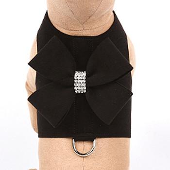 Black Nouveau Bow Bailey II Dog Harnesses - Choose Colors