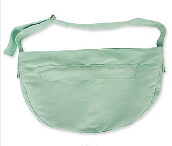 Mint Luxe Suede Cuddle Dog Carrier by Susan Lanci Designs