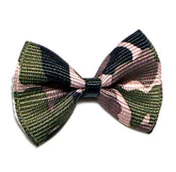 Dog Bows - Camo Black