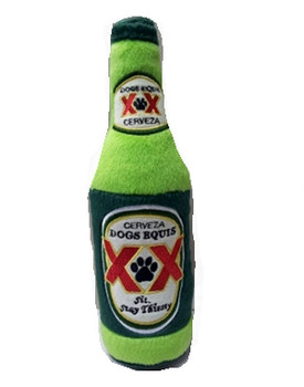 Dogs Equis Beer Plush Dog Toys