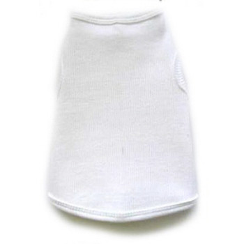 ZBlank White Dog Tank Top by I See Spot