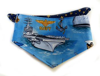 Dog Bandana - US Navy Military