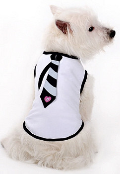 Necktie Dog Tank