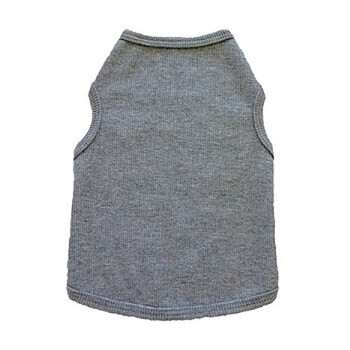 ZBlank Grey Dog Tank Top by I See Spot