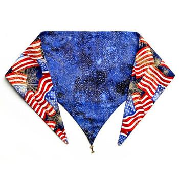 Stars and Stripes Dog Bandana