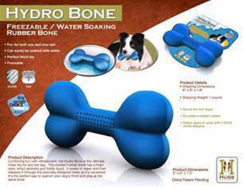 Hydro Bone Dog Chew Toy for Hot Days