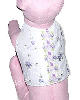 Lavender Rosebud Dog Vest