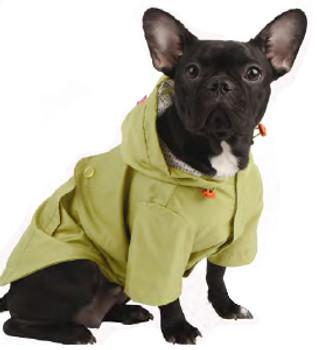 Hooded Dog Slicker Raincoat