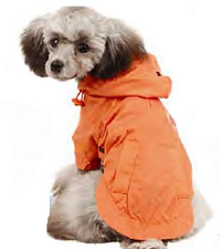 Hooded Dog Waterproof Windbreaker