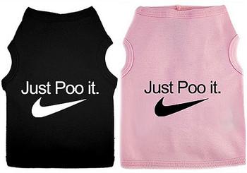 Just Poo It Dog Tank
