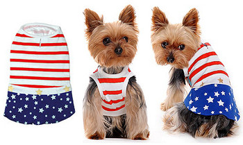 Star Spangled Dog Dress
