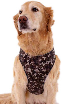 Mutt Gear Comfort Safety Harness - Digital Camo