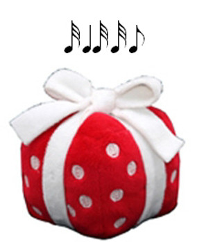 Singing Red Christmas Gift Toy