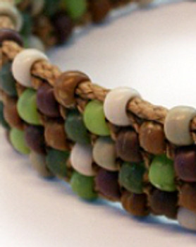Southwestern Beaded Azzi Dog Collar