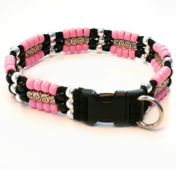 Southwestern Beaded Lisa Dog Collar