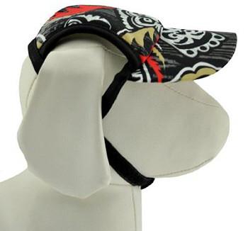 Tiki Flame Sun Protective Dog Visor Hats for Dogs