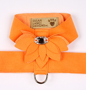 Tangerine Water Lily Tinkie Dog Harness