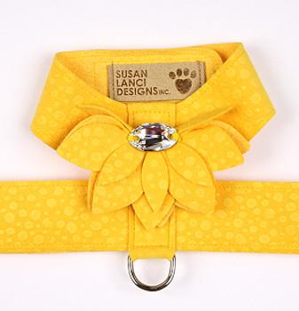Sunshine Yellow Water Lily Tinkie Dog Harness