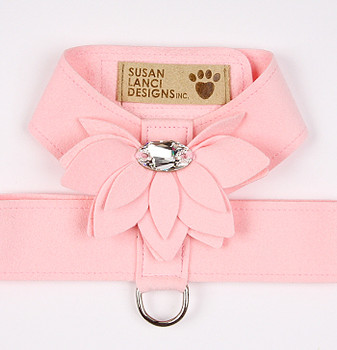 Puppy Pink Water Lily Tinkie Dog Harness