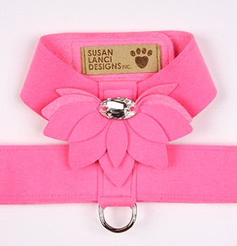 Perfect Pink Water Lily Tinkie Dog Harness