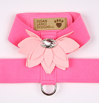 Perfect Pink / Puppy Pink Water Lily Tinkie Dog Harness