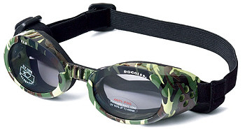 Green Camo Dog Sunglasses ILS