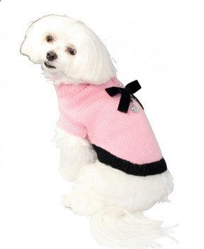Classic CoCo Mohair Dog Sweater by Hip Doggie