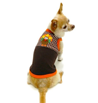 Save The Turkey Dog Tank by Ruff Ruff Couture