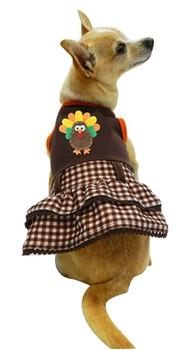 Save The Turkey Dog Dress by Ruff Ruff Couture