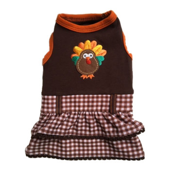 Save The Turkey Dog Dress by Ruff Ruff Couture