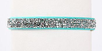 Bimini Blue Crystal Rocks Dog Collars by Susan Lanci