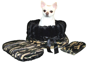 Camo & Black Reversible Dog Snuggle Bug by Pet Fly\'s