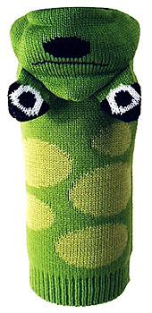 Cute Frog Hoodie Dog Sweater