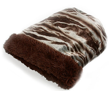 Cuddle Cup - Koala Dark with Chocolate Shag by Susan Lanci Designs