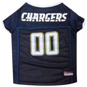 San Diego Chargers Pet Dog Jersey
