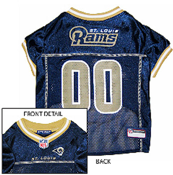 St Louis Rams Pet Dog Jersey