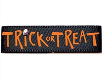 Dog Bows - Trick or Treat Black