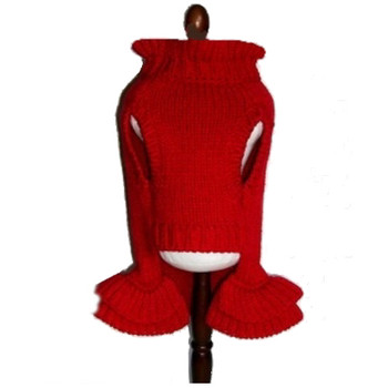 Red Dog Sweater Dress