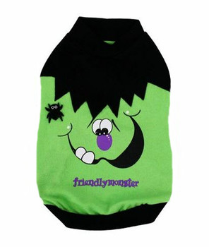 Friendly Green Monster Dog Tee