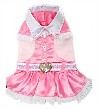 Pink Cowgirl Dress Pet Dog Costume
