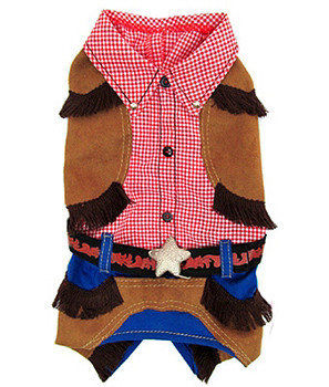 Cowboy Outfit Pet Dog Costume