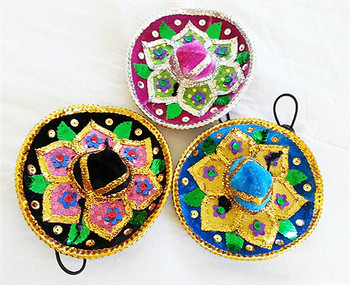 Colorful Pet Dog Sombreros