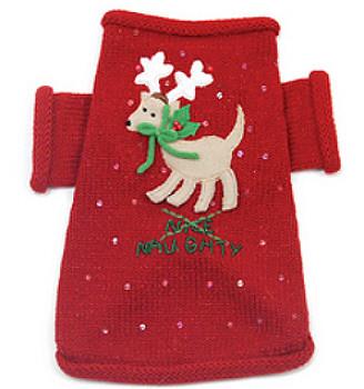 Naughty or Nice Christmas Dog Sweater